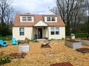 "The ""mulch yard house."""